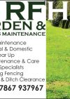RFH Gardens & Grounds Maintenance & Equestrian