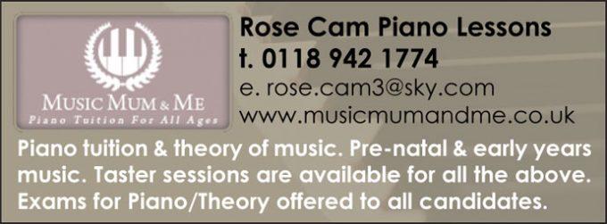 Rose Cam Piano Lessons