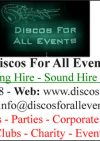 Discos For All Events
